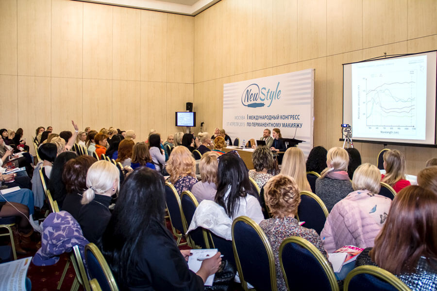 Photos from the International Congress for permanent make-up newstyle