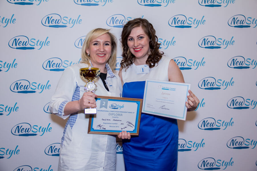 Photos from the competition for masters of permanent makeup newstyle